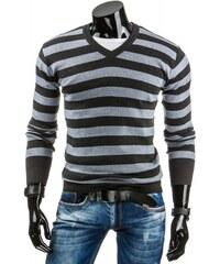 Pánský svetr Xawe tmavě šedý - dark šedá