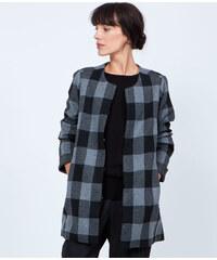 Veste en tricot à carreaux Etam