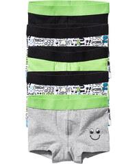bpc bonprix collection Lot de 5 boxers, T. 92/98-176/182 noir lingerie - bonprix