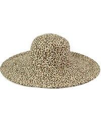 Art of Polo Letní leopardí klobouk béžový