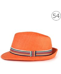 Art of Polo Junior trilby klobouk oranžový