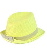 Art of Polo Trilby klobouk s mašlí žlutý