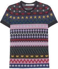 MARY KATRANTZOU Pedro Top Sparkle Knit Multi