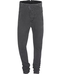 BORIS BIDJAN SABERI Pants Resin Dyed Dark Grey
