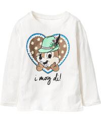 Disney Langarmshirt Oktoberfest Alvin und die Chipmunks, Gr. 80/86-128/134 in weiß für Mädchen von bonprix