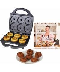 TEAM-KALORIK Kalorik Waffeleisen Cupcake Maker TKG CKM 1002 NYC RB, 900 Watt, inkl. Backbuch mit 50 Rezepten