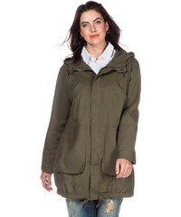 sheego Casual Parka in Oversized-Form