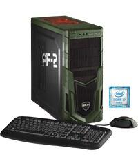Hyrican Gaming PC Intel® i5-6600, 16GB, SSD + HDD, GeForce® GTX 1070 »Military Gaming 5220«