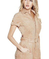Guess Overal Anja Faux-Suede Romper