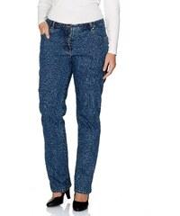 Große Größen: sheego Denim Gerade Stretch-Jeans ?Lana?, blue denim, Gr.40-56