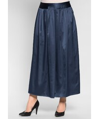 Große Größen: sheego Style Plissee-Abendrock, indigo, Gr.40-58