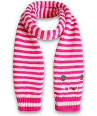 Esprit Pletená šála s kočkou, 100% bavlna