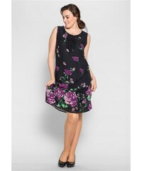 Damen Style Figurbetonendes Kleid SHEEGO STYLE lila 40,42,44,46,48,50,52,54,56,58
