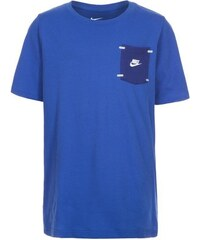 Nike Tech Trainingsshirt Kinder blau L - 147/158 cm,M - 137/147 cm,S - 128/137 cm,XL - 158/170 cm
