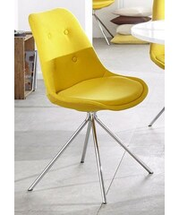 ANDAS andas Stühle (2 Stück) gelb