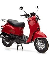 NOVA MOTORS Mofaroller 49 ccm 25 km/h Venezia rot
