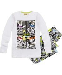 Ninja Turtles Pyjama grau in Größe 116 für Jungen aus 100% Baumwolle