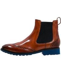 Melvin & Hamilton AMELIE 5 Ankle Boot orange/navy/dark blue