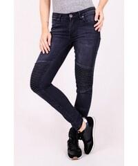 SAM 73 Dámské slim džíny v motorkářském stylu PAWS16_07 gray - šedá