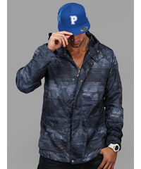 LRG Woodgrain Camo Windbreaker Navy Wood Camo