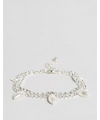 ASOS WEDDING - Perlenarmband - Cremeweiß