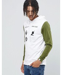 Billionaire Boys Club - Langärmliges T-Shirt mit Kapuze - Weiß