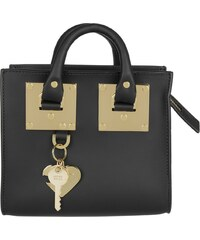 Sophie Hulme Sacs portés main, Box Albion Tote Bag Saddle Leather Black en noir