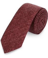 s.Oliver Premium Krawatte aus Seide-Woll-Mix