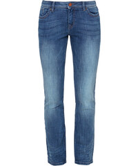 s.Oliver Catie Straight: Blaue Used-Jeans