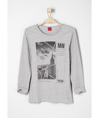 s.Oliver Longsleeve mit Frontprint