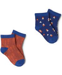 MANGO BABY Doppelpack Gemusterte Socken