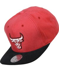 Mitchell & Ness Sandy Off White Chicago Bulls Snapback red/black