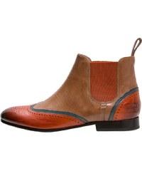 Melvin & Hamilton SALLY 19 Ankle Boot orange/midblue tortora