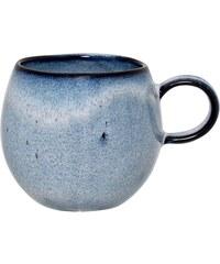Bloomingville Keramický hrneček Sandrine Blue - menší