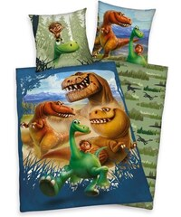 Herding Dětské oboustranné povlečení Dobrý Dinosaurus, 140x200 cm