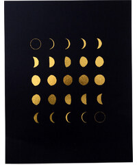Swell Made Co. Affiche Imprimée - Moon Phases