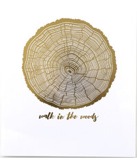 Swell Made Co. Affiche Imprimée - Walk in the Woods
