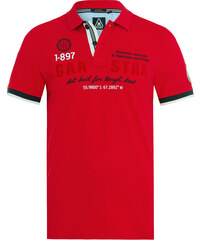 Gaastra Poloshirt Peak Art Herren rot