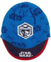 Star Wars-The Clone Wars Mütze blau in Größe 52 für Jungen aus 100% Polyacryl