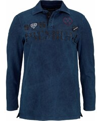 JOHN DEVIN Langarm Poloshirt