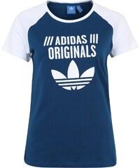 ADIDAS ORIGINALS T Shirt mit Raglanärmeln und Logoprint