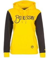 Borussia Dortmund Fan Kapuzenpullover Damen Puma gelb L - 40,M - 38,S - 36,XL - 42,XS - 34