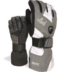 Level snowboardové rukavice HALF PIPE W GORE-TEX | White-Clay