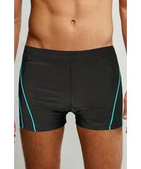 Modera Holiday Beach pánské koupací boxerky černá 4XL