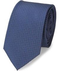 Calvin Klein Blaue Krawatte Textured