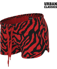 Urban Classics Shorts mit Zebra-Print - L