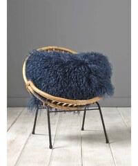 Cyrillus Agnea - Taie de coussin en laine - bleu marine