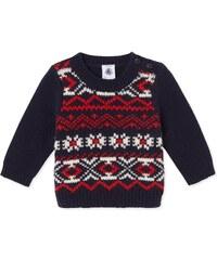 Petit Bateau Pull en laine mélangée - multicolore