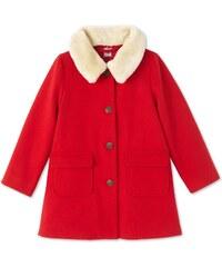 Petit Bateau Manteau en laine mélangée - rouge