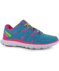 Karrimor Nike Air Pegasus Plus 29 Girls Running Shoes Teal/Pink